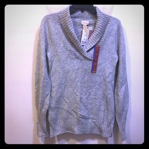 Mossimo Supply Co. Shawl Collar Sweater size Large